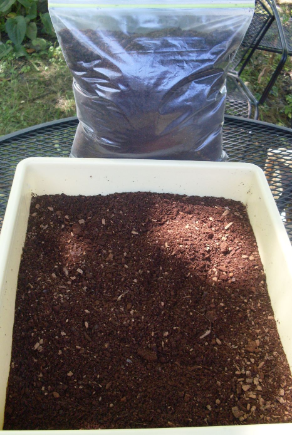 (2 GALLON BAG) BLACK SOLDIER FLY COMPOST